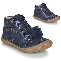 kengät Tytöt Korkeavartiset tennarit GBB ISAURE Sininen