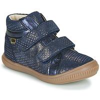 kengät Tytöt Korkeavartiset tennarit GBB EDEA Blue
