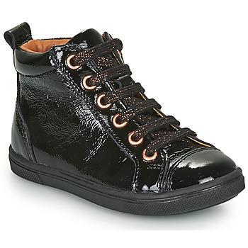 kengät Tytöt Korkeavartiset tennarit GBB INNA Black