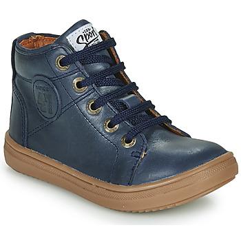kengät Pojat Korkeavartiset tennarit GBB KELIG Blue