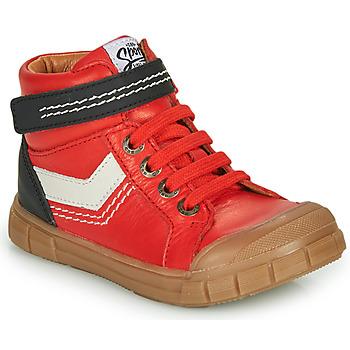 kengät Pojat Korkeavartiset tennarit GBB BAO Red