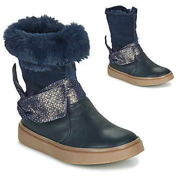 kengät Tytöt Saappaat GBB EVELINA Blue