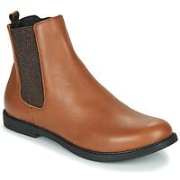 kengät Tytöt Bootsit GBB ARANA Cognac