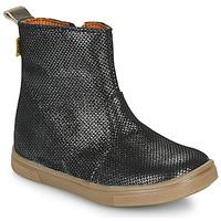 kengät Tytöt Bootsit GBB ERNA Musta