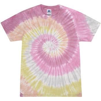 vaatteet Naiset Lyhythihainen t-paita Colortone Rainbow Desert Rose