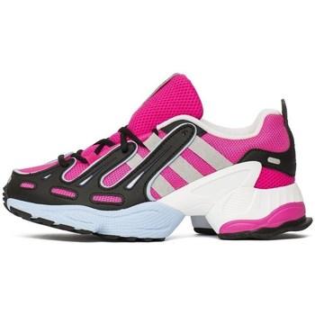 kengät Naiset Matalavartiset tennarit adidas Originals Eqt Gazelle W Mustat, Vaaleanpunaiset