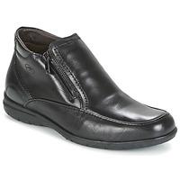 kengät Miehet Bootsit Fluchos LUCA Musta