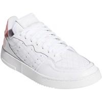 kengät Naiset Matalavartiset tennarit adidas Originals Supercourt W Valkoiset