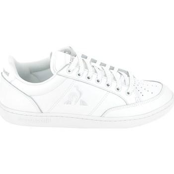 kengät Naiset Matalavartiset tennarit Le Coq Sportif Court Clay Blanc Valkoinen