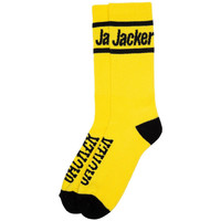 Asusteet / tarvikkeet Miehet Sukat Jacker Holy molley socks Keltainen