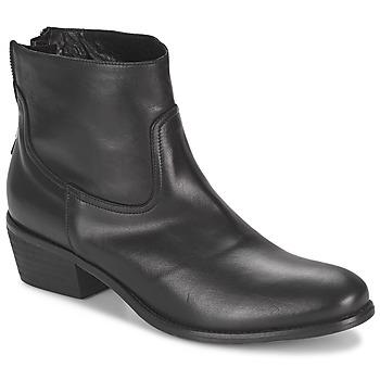 kengät Naiset Bootsit Meline SOFMET Musta