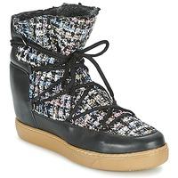 kengät Naiset Bootsit Meline DERNA Musta