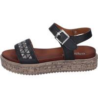 kengät Naiset Sandaalit ja avokkaat Osmose BN500 Musta