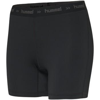 vaatteet Naiset Shortsit / Bermuda-shortsit Hummel Short femme  Perofmance Hipster noir