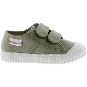 kengät Lapset Matalavartiset tennarit Victoria 136606 Vihreä
