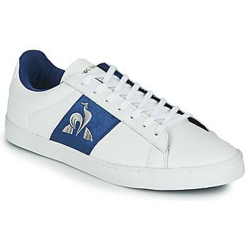 kengät Naiset Matalavartiset tennarit Le Coq Sportif ELSA White / Blue