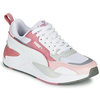 kengät Naiset Matalavartiset tennarit Puma X-RAY 2 Valkoinen / Vaaleanpunainen