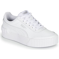 kengät Naiset Matalavartiset tennarit Puma CARINA LIFT White
