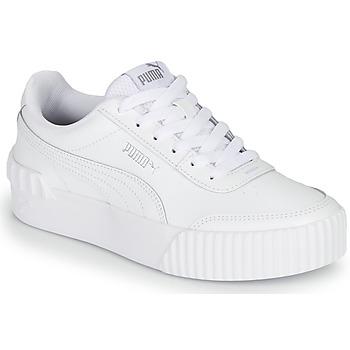 kengät Naiset Matalavartiset tennarit Puma CARINA LIFT Valkoinen