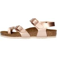 kengät Tytöt Sandaalit ja avokkaat Birkenstock 1014444 Pink