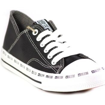 kengät Naiset Matalavartiset tennarit Big Star FF274023 Mustat