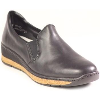 kengät Naiset Mokkasiinit Rieker 5976600 Mustat