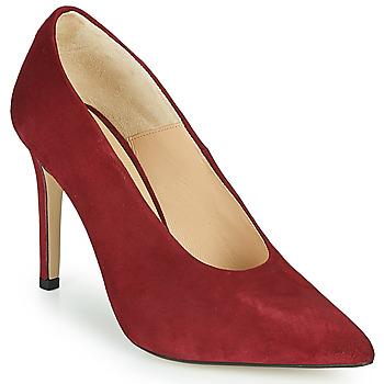 kengät Naiset Korkokengät Jonak CURVE Red