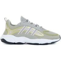 kengät Lapset Juoksukengät / Trail-kengät adidas Originals Haiwee J Vihreät, Keltaiset