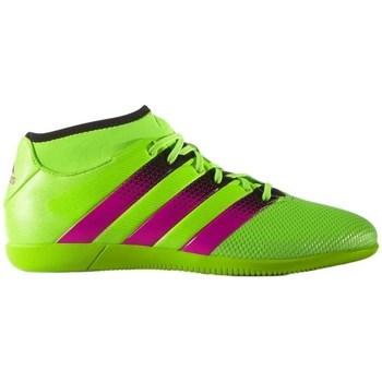 kengät Miehet Jalkapallokengät adidas Originals Ace 163 Primemesh IN Mustat, Vihreät, Vaaleanpunaiset