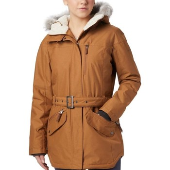 vaatteet Naiset Parkatakki Columbia Carson Pass II Hunajan värinen