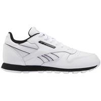 kengät Lapset Matalavartiset tennarit Reebok Sport Classic Leather Valkoiset