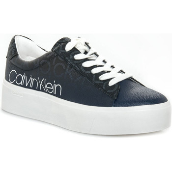 kengät Naiset Matalavartiset tennarit Calvin Klein Jeans JANIKA BLACK Nero