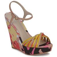 kengät Naiset Sandaalit ja avokkaat Bourne KARMEL BEIGE / Monivärinen