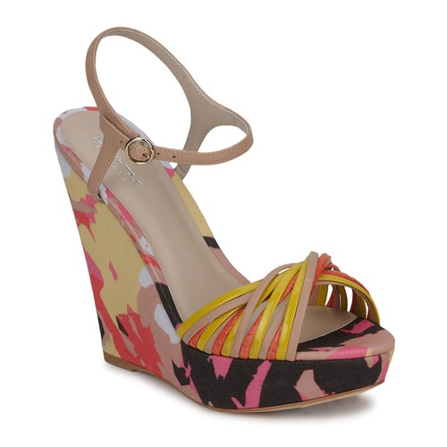 kengät Naiset Sandaalit ja avokkaat Bourne KARMEL Beige / Multicolour