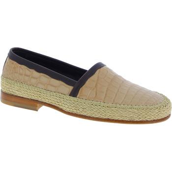 kengät Miehet Mokkasiinit D&G A50034 A2F77 8R063 beige