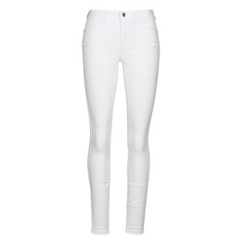 vaatteet Naiset Slim-farkut Vero Moda VMSEVEN White