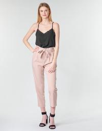 vaatteet Naiset 5-taskuiset housut Betty London MOUDI Pink