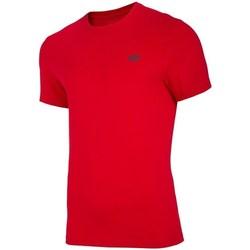 vaatteet Miehet Lyhythihainen t-paita 4F TSM003 Punainen