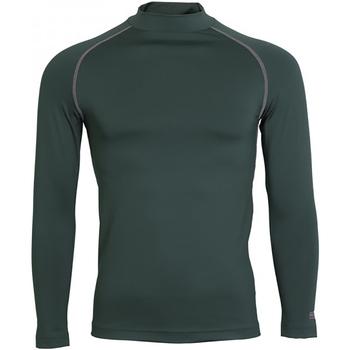 vaatteet Miehet T-paidat pitkillä hihoilla Rhino RH001 Bottle Green