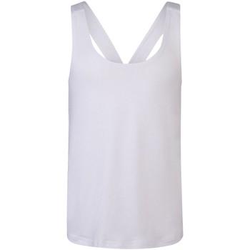 vaatteet Tytöt Hihattomat paidat / Hihattomat t-paidat Skinni Fit SM241 White