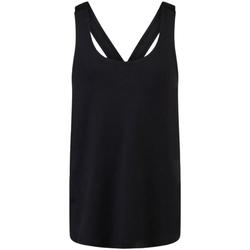 vaatteet Tytöt Hihattomat paidat / Hihattomat t-paidat Skinni Fit SM241 Black