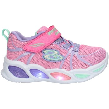 kengät Lapset Matalavartiset tennarit Skechers 302042 Pink