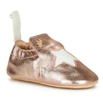 kengät Tytöt Tossut Easy Peasy BLUBLU ETOILE Pink / Kulta