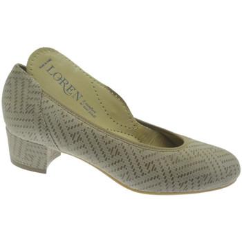 kengät Naiset Korkokengät Calzaturificio Loren LO60713li grigio