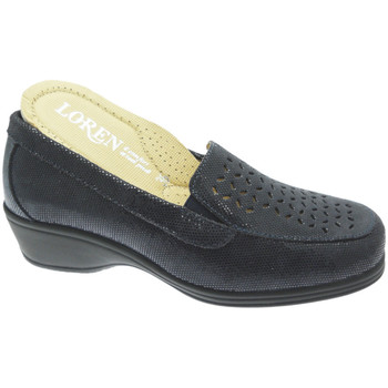 kengät Naiset Mokkasiinit Calzaturificio Loren LOK4013bl blu