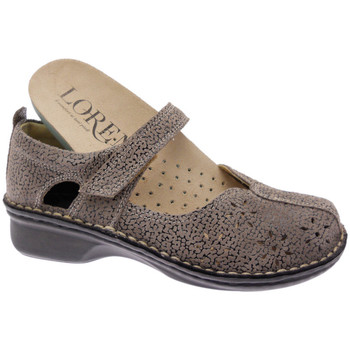 kengät Naiset Balleriinat Calzaturificio Loren LOM2313tabo tortora