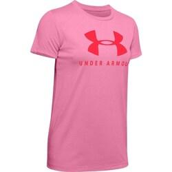 vaatteet Naiset Lyhythihainen t-paita Under Armour Graphic Sportstyle Classic Crew Vaaleanpunaiset