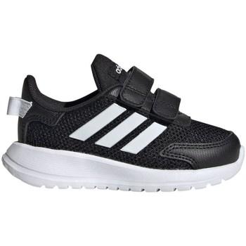 kengät Lapset Matalavartiset tennarit adidas Originals Tensaur Run I Mustat