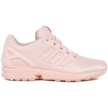 kengät Lapset Derby-kengät & Herrainkengät adidas Originals ZX Flux J Vaaleanpunaiset