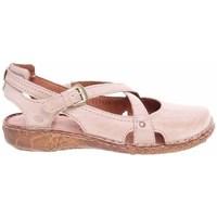 kengät Naiset Sandaalit ja avokkaat Josef Seibel Ballerinas Vaaleanpunaiset